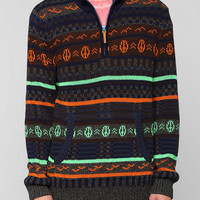 Koto Peace Half-Zip Sweater - Urban Outfitters