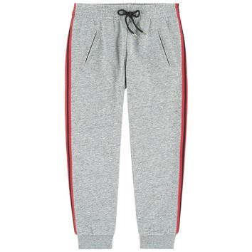 Chloe Girls Fancy Grey Sweatpants (Mini-Me)