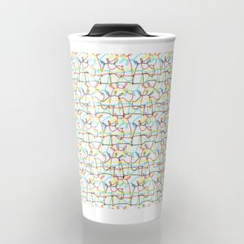 Scribbled Unicorns Travel Mug by That's So Unicorny