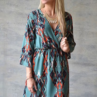 Free Falling Everly Dress - Piace Boutique