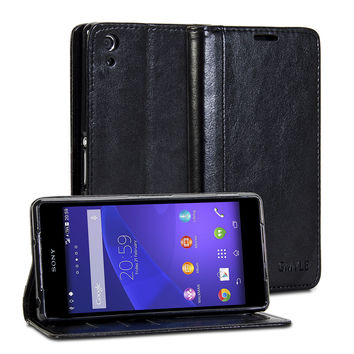 Wallet Case Simple for Sony Xperia Z2