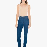 Cotton Spandex Deep Cut Bodysuit | American Apparel