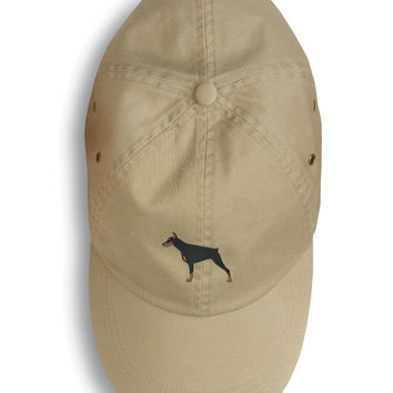 Doberman Pinscher Embroidered Baseball Cap BB3460BU-156