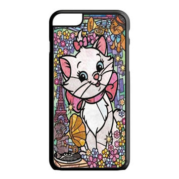 Marie Cat Disney's The AristoCats Stained Glass iPhone 6 Plus Case
