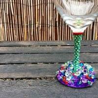 Princess Ariel Wine Glass