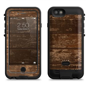 The Old Worn Wooden Planks V2  iPhone 6/6s Plus LifeProof Fre POWER Case Skin Kit