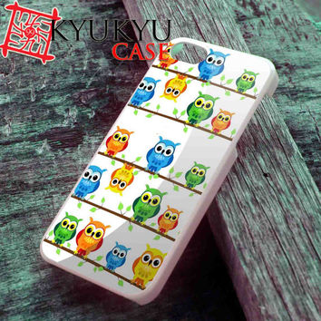 Cute Owl - iPhone 4/4S, iPhone 5/5S, iPhone 5C Case and Samsung Galaxy S2 i9100, S3 i9300, S4 i9500 Case