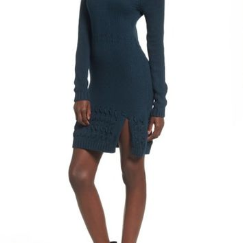 Somedays Lovin Falling Free Knit Off the Shoulder Dress | Nordstrom