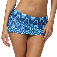 La Blanca Desert Mirage Tulip Skirted Bottom - Navy
