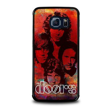 the doors samsung galaxy s6 edge case cover  number 1