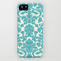 Blue Design iPhone & iPod Case by Lucy Helena