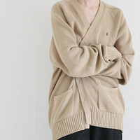 Ralph Lauren cotton sweater cardigan