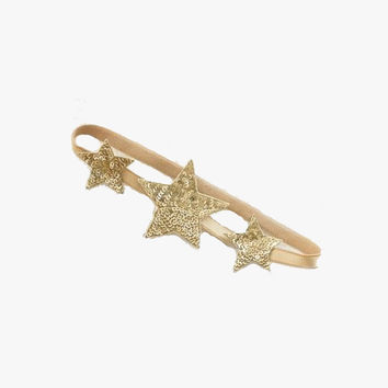 Tutu Du Monde Shooting Star Headband - Gold - TDM0267 - FINAL SALE