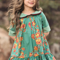 Persnickety Isabella Dress Emerald Pine PREORDER