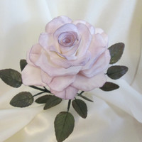 rose cake topper wedding bridal lavender gumpaste edible sugar keepsake flower floral arrangement
