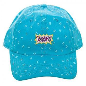 NIckelodeon Rugrats Turquoise Adjustable Hat