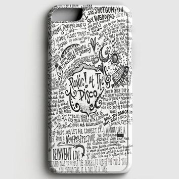 Panic! At The Disco Lyric 3 Cover iPhone 8 Case
