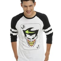 DC Comics Batman: The Animated Series The Joker Raglan