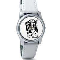 Mind Flowers Music Illustration Wrist Watch