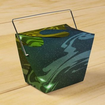 Abstract Swirls Favor Box
