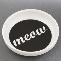 ModCloth Cats Feline and Dine Dish