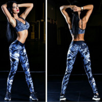 Women'S Fashion Sports Printing Trousers