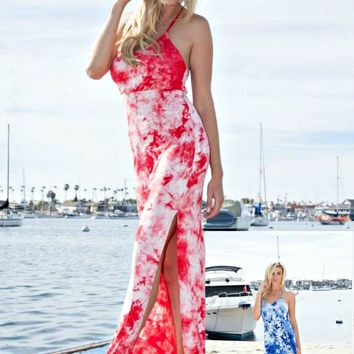 Free to Be Me ~ Tie Dye Maxi Dress ~ 2 Colors