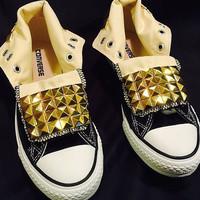Studded Custom Converse Chuck Taylor Sneakers