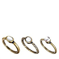Pieces Multi Stack Ring Set