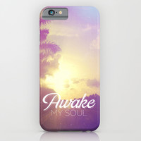Psalm 57:8 Awake My Soul iPhone & iPod Case by Pocket Fuel