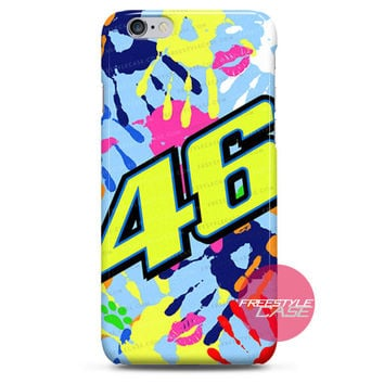 Valentino Rossi VR46 Misano 2014 Graphic Edition iPhone 6 6 Plus 5s 5c 4 3 iPod Case Cover Series