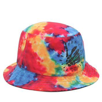 Neff Mac Miller Bucket Hat - Mens Backpack - Tie Dye - One