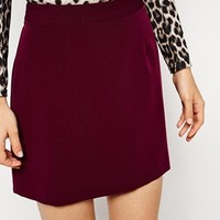 ASOS A-Line Mini Skirt