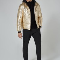LTD Gold Bomber Jacket