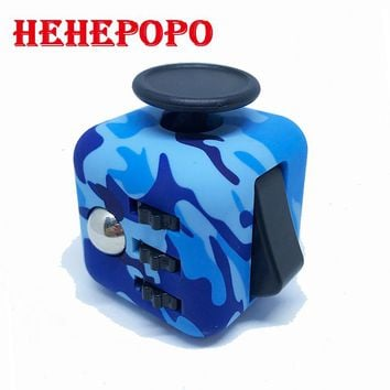 Epacket Free Shipping Mini Fidget Cube  FidgetCube Desk Finger Toy Squeeze Fun Stress Reliever Puzzle Magic Cube With Box