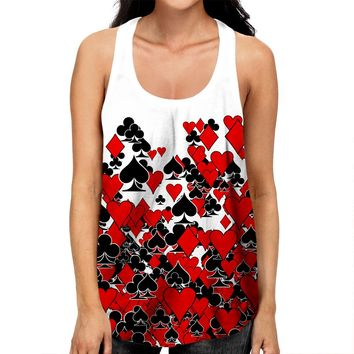 Deck Of Cards Racerback