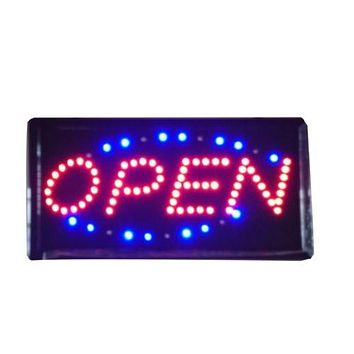 Neon Lights LED Animated Open Sign Customers Attractive Sign Store Shop Sign UK