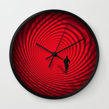Into The Unknown CVII - Escape II Wall Clock by tmarchev