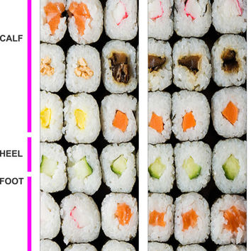 Sushi Socks - Sushi Lovers - California Rolls