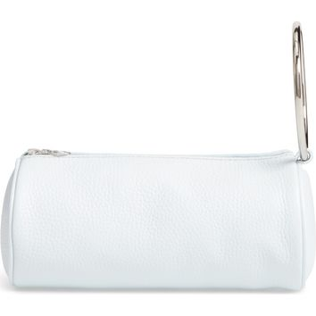 KARA Pebbled Leather Duffel Wristlet Clutch | Nordstrom