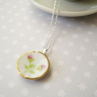 Sterling Silver Necklace With Minia.. on Luulla