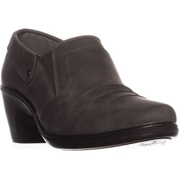 Easy Street Bennett Ankle Booties, Grey, 10 US