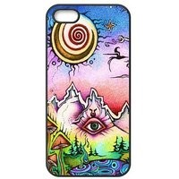iPhone 6 Protective Case -Trippy Hardshell Cell Phone Cover Case for New iPhone 6