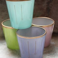 Pastel Glass Votive