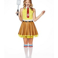 Spongebob Dress Adult Womens Costume - Spencer's