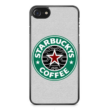 Bucky Barnes The Winter Soldier Coffee iPhone 7 Case