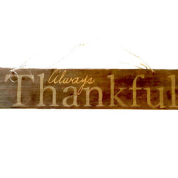 2 Sided Sign Always Thanksful, Merry Christmas, Barn Wood, With Happy  Halloween, Winter Wonderland, America est. 1776 on Reverse SIde.