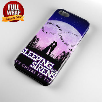 Sleeping With Sirens Infinity Quote Full Wrap Phone Case For iPhone, iPod, Samsung, Sony, HTC, Nexus, LG, and Blackberry