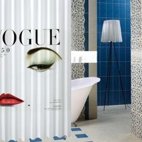"Vogue 1950 mgazine vintage Style High Quality Custom Shower Curtain 60"" x 72"""