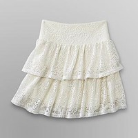 Dream Out Loud by Selena Gomez  Junior's Skirt - Crochet Lace